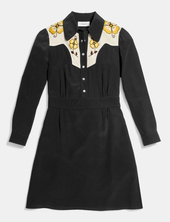 Coach Everyday Western Dress Black Women Ready-to-Wear Dresses Alternate View 1