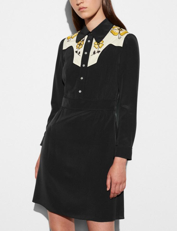 Coach Everyday Western Dress Black Women Ready-to-Wear Dresses Alternate View 2