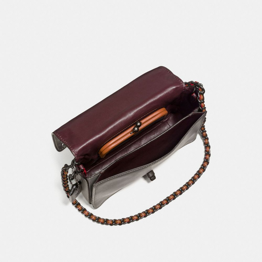 Western Rivets Dinky Crossbody 24 in Glovetanned Leather - Alternate View A2