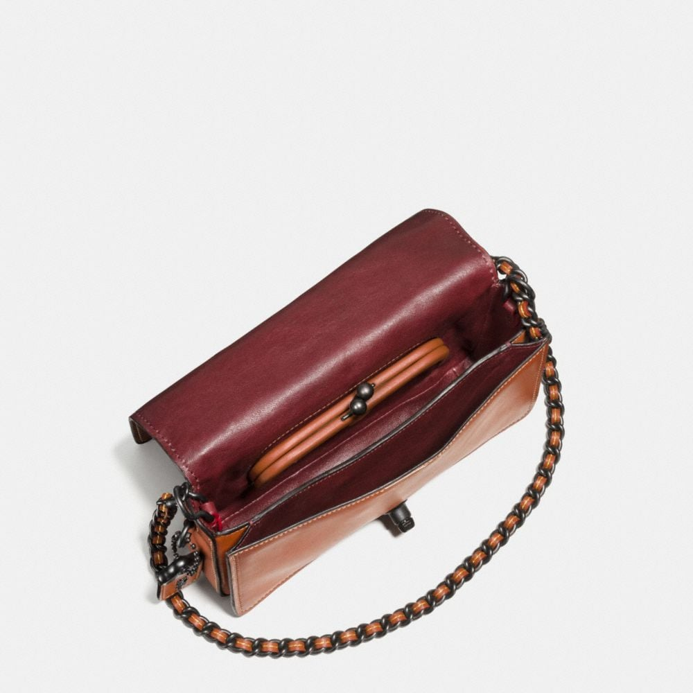 Coach Western Rivets Dinky Crossbody in Glovetanned Leather Alternate View 2