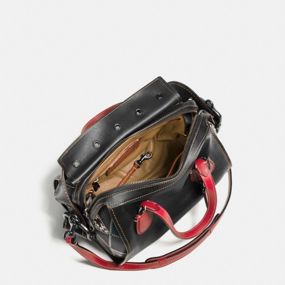 Badlands Satchel 25 in B-Boy Prairie Patchwork Leather - Autres affichages A2