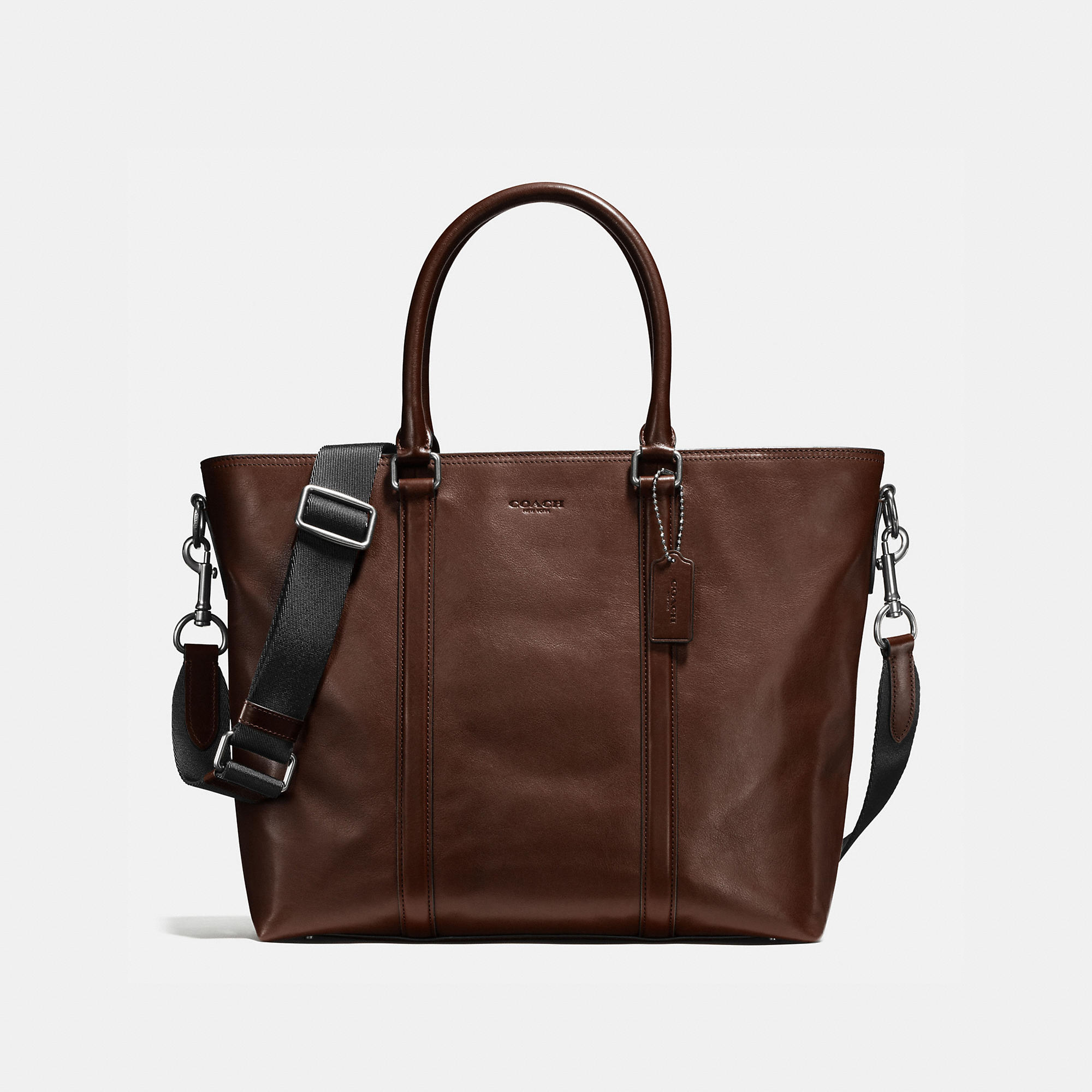 Coach Metropolitan Tote In Sport Calf Leather