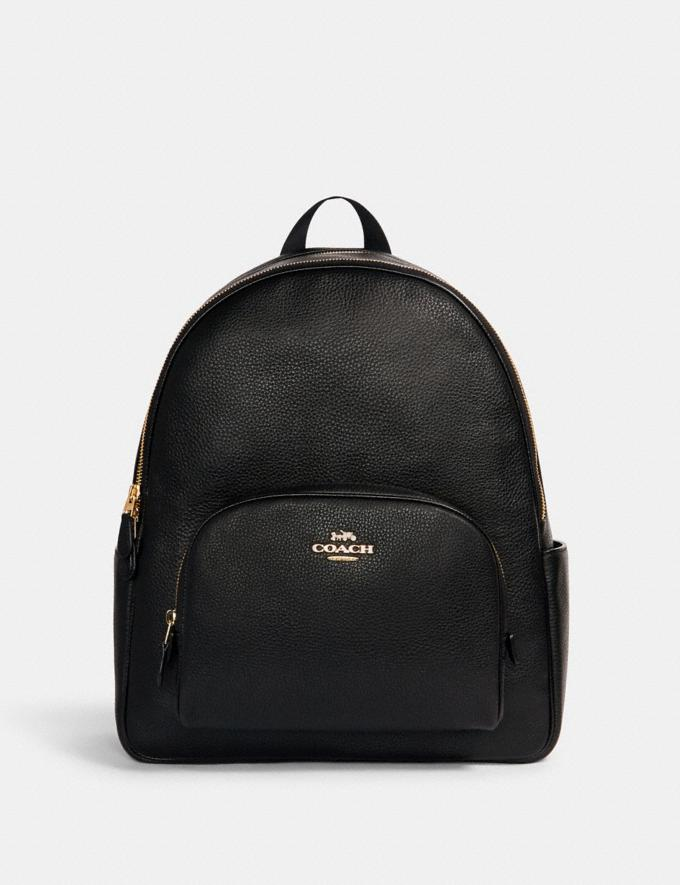 Coach Large Court Backpack Im/Black Translations 9.3 Outlet sale and back in stock