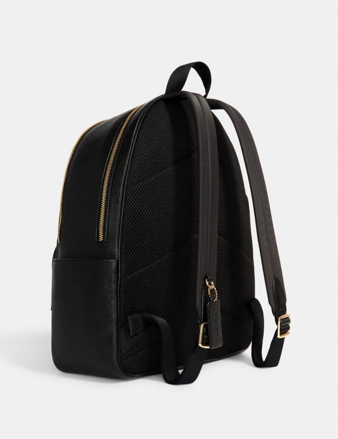 Coach Large Court Backpack Im/Black Translations 9.3 Outlet sale and back in stock Alternate View 1