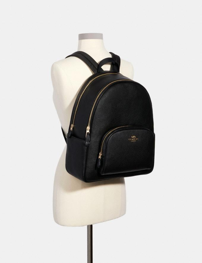 Coach Large Court Backpack Im/Black Translations 9.3 Outlet sale and back in stock Alternate View 3