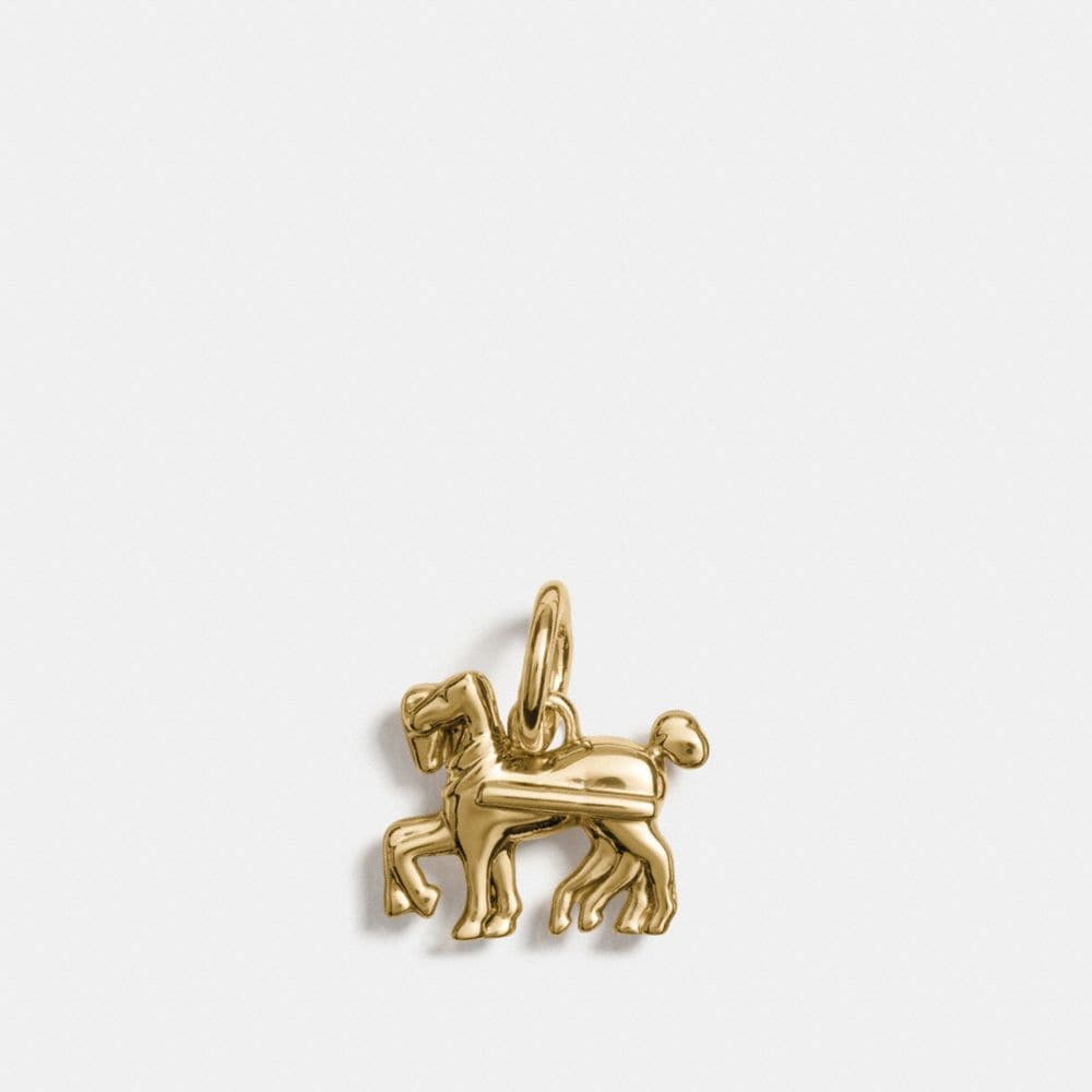 Coach Horse Charm