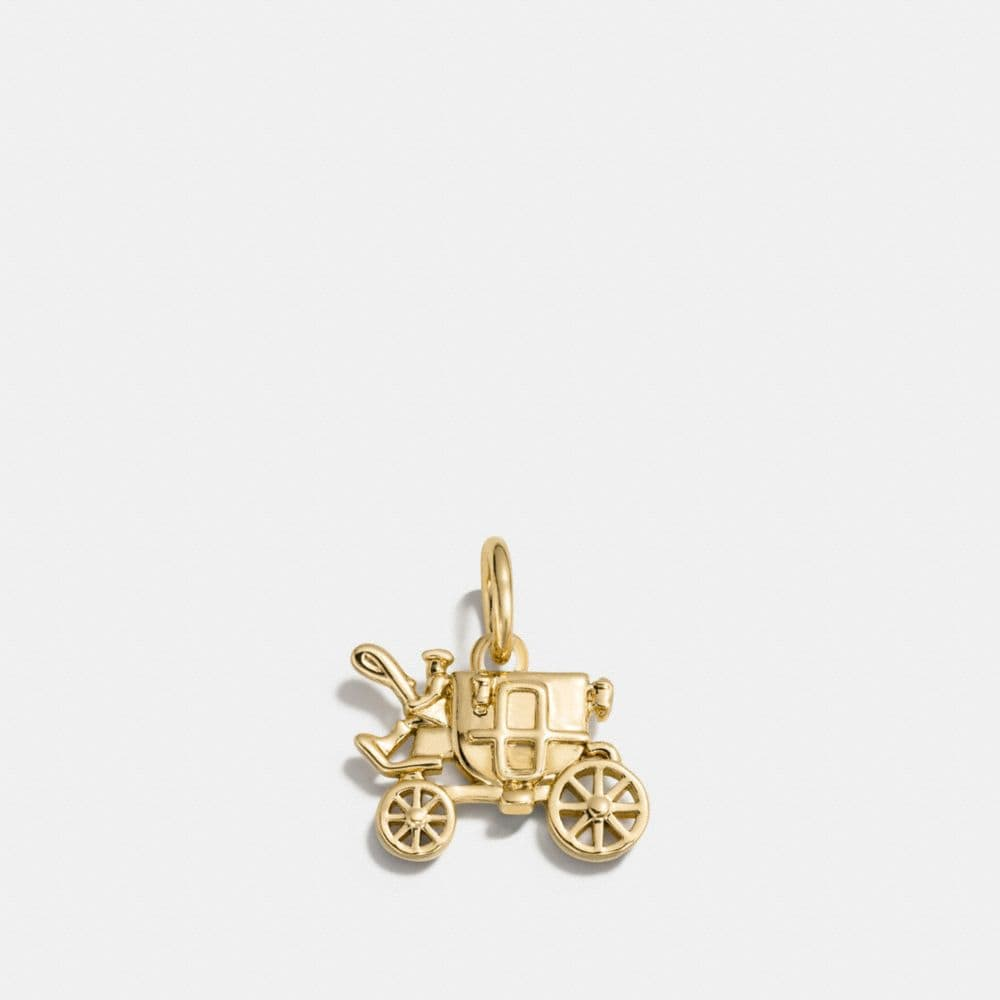 Coach Carriage Charm