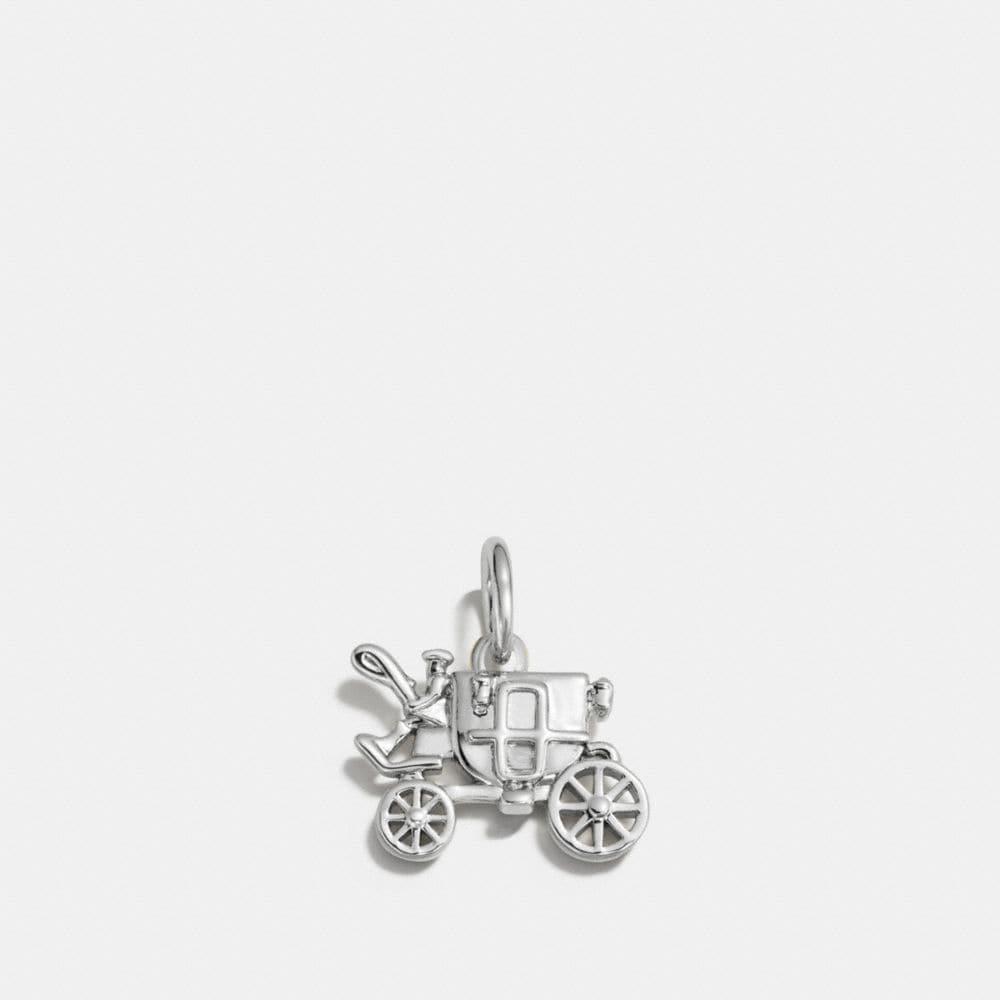 Coach Carriage Charm