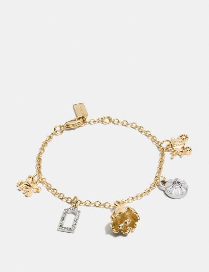 Coach Coach Codes Charm Bracelet Silver/Gold Women Accessories Jewelry New Arrivals