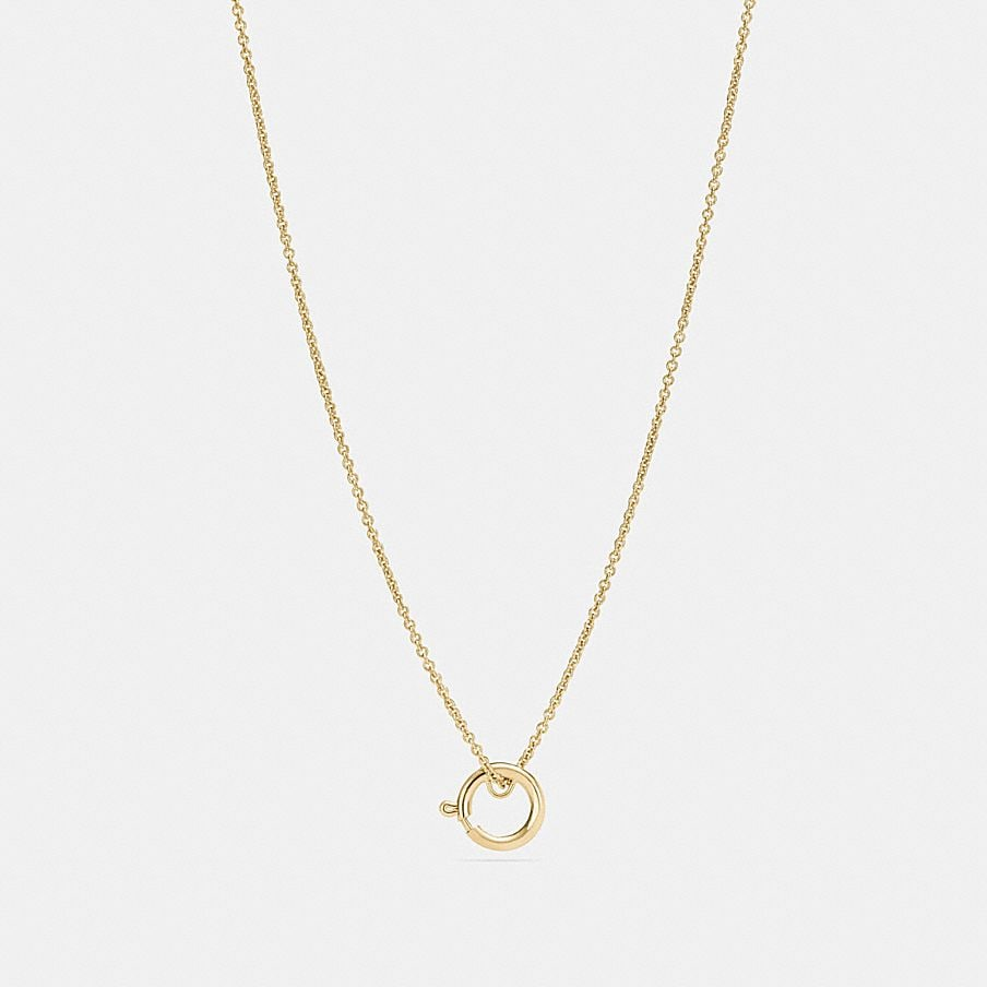 hoop seal gold in pendant necklace wet bar look stunning and
