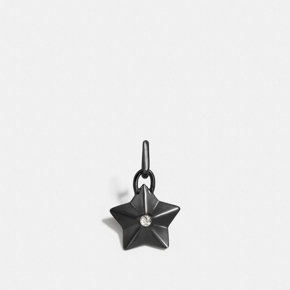 Coach Faceted Star Charm