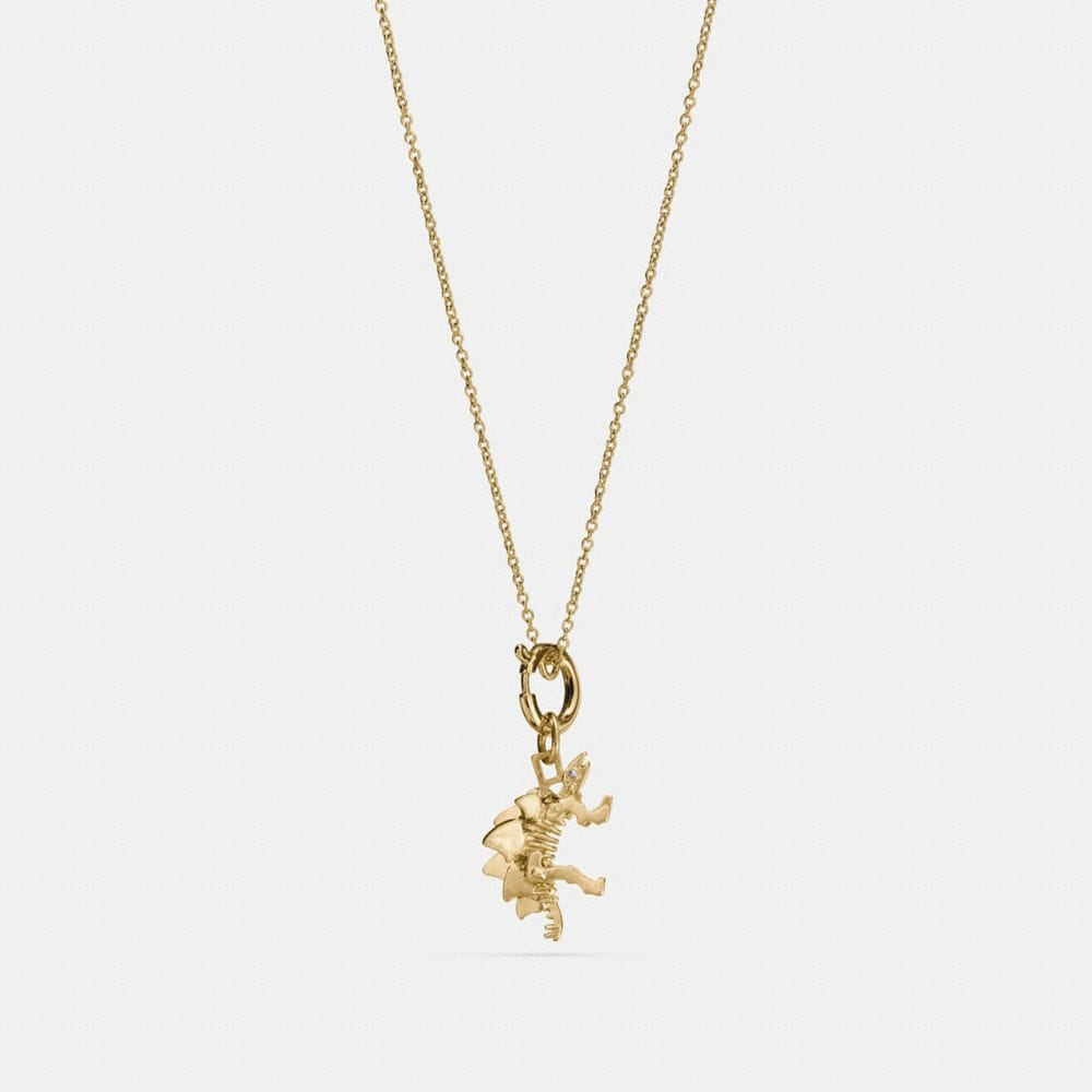 STEGGY CHARM NECKLACE