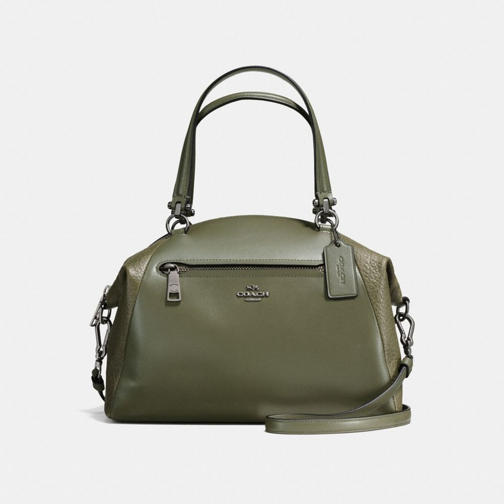 Prairie Satchel in Mixed Leathers