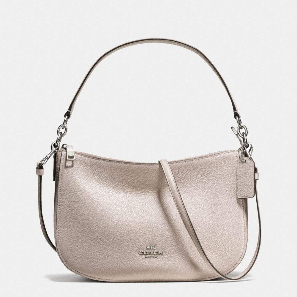 CHELSEA CROSSBODY IN PEBBLE LEATHER