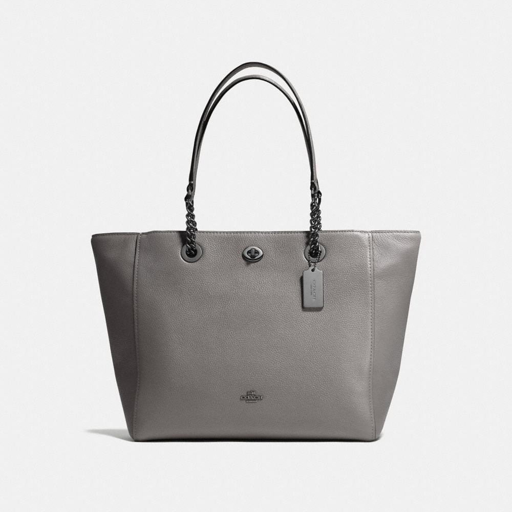 TURNLOCK CHAIN TOTE
