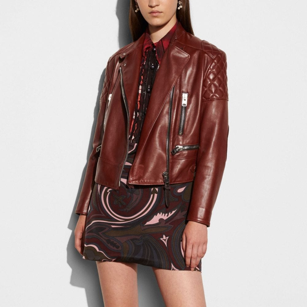 Icon Leather Biker Jacket