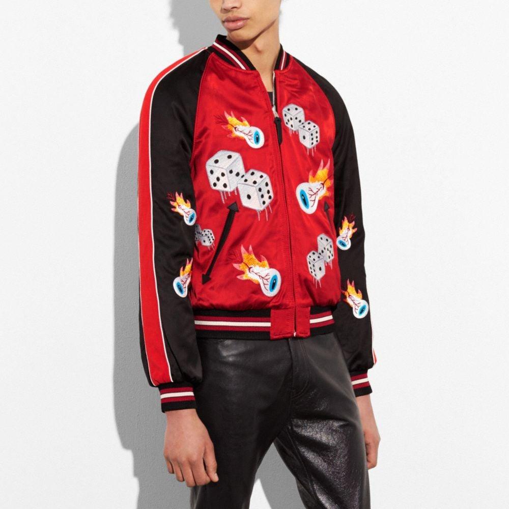 Coach Reversible Tough Luck Souvenir Jacket