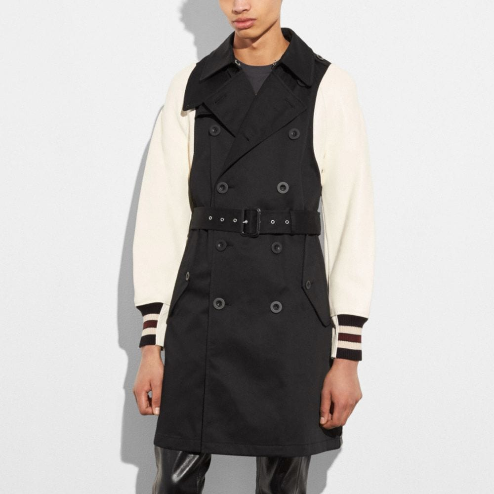 Coach Varsity Trench Jacket
