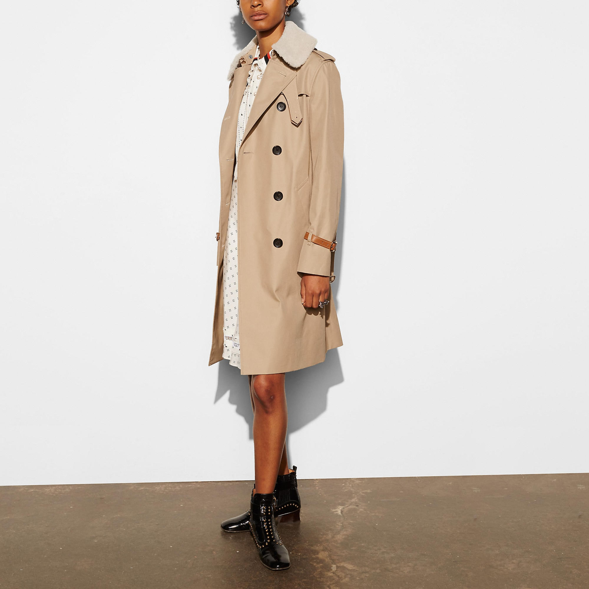 Coach Classic Animated Trench