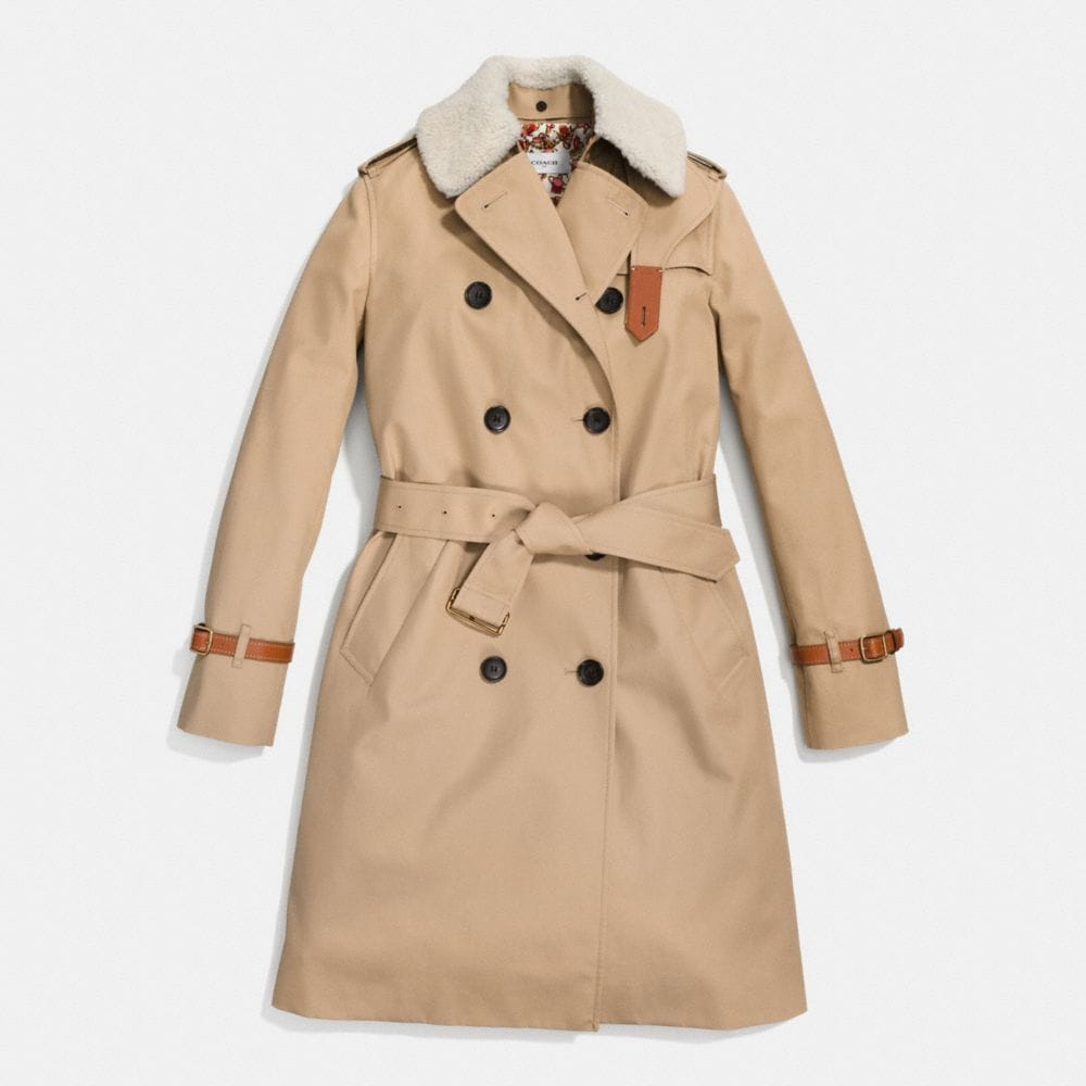 Coach Classic Animated Trench Alternate View 1
