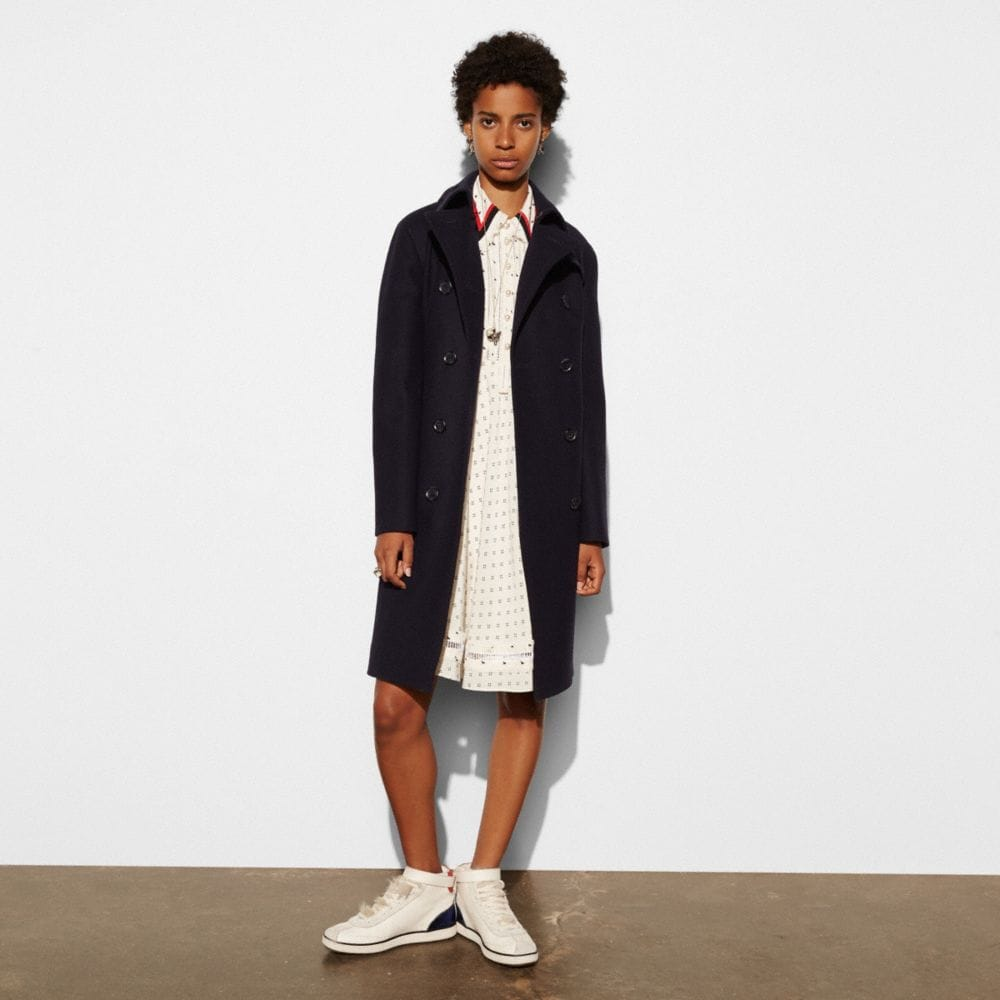 CLASSIC WOOL TRENCH
