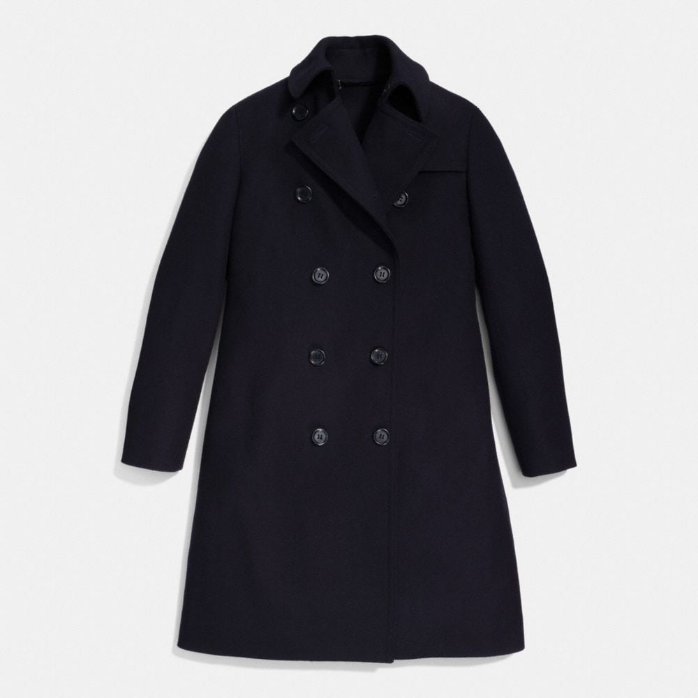 Classic Wool Trench - Alternate View A1