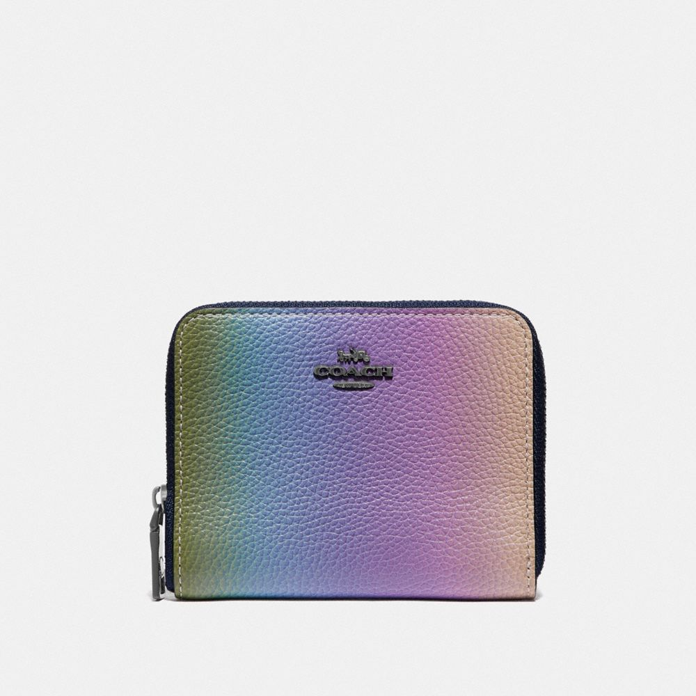 SMALL ZIP AROUND WALLET WITH OMBRE