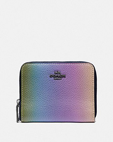 5e501df15aad SMALL ZIP AROUND WALLET WITH OMBRE