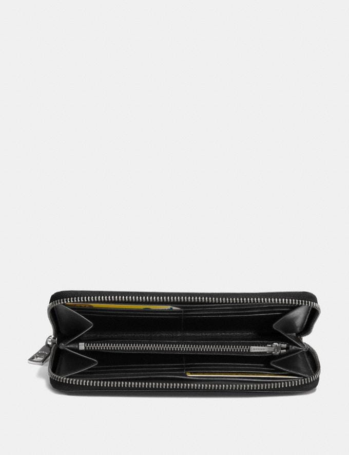 Coach Accordion Wallet Black  Alternate View 1