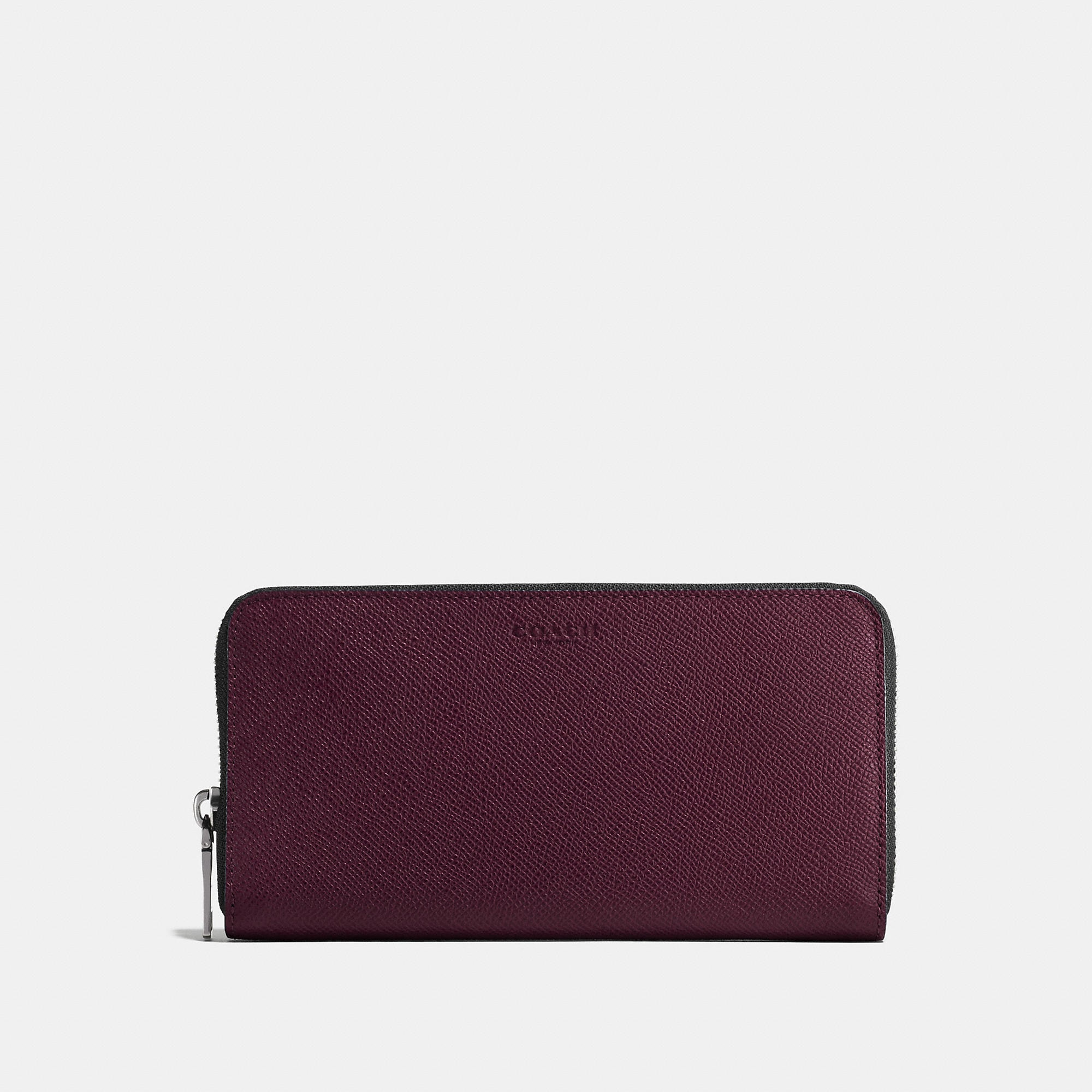 Coach Accordion Wallet In Crossgrain Leather