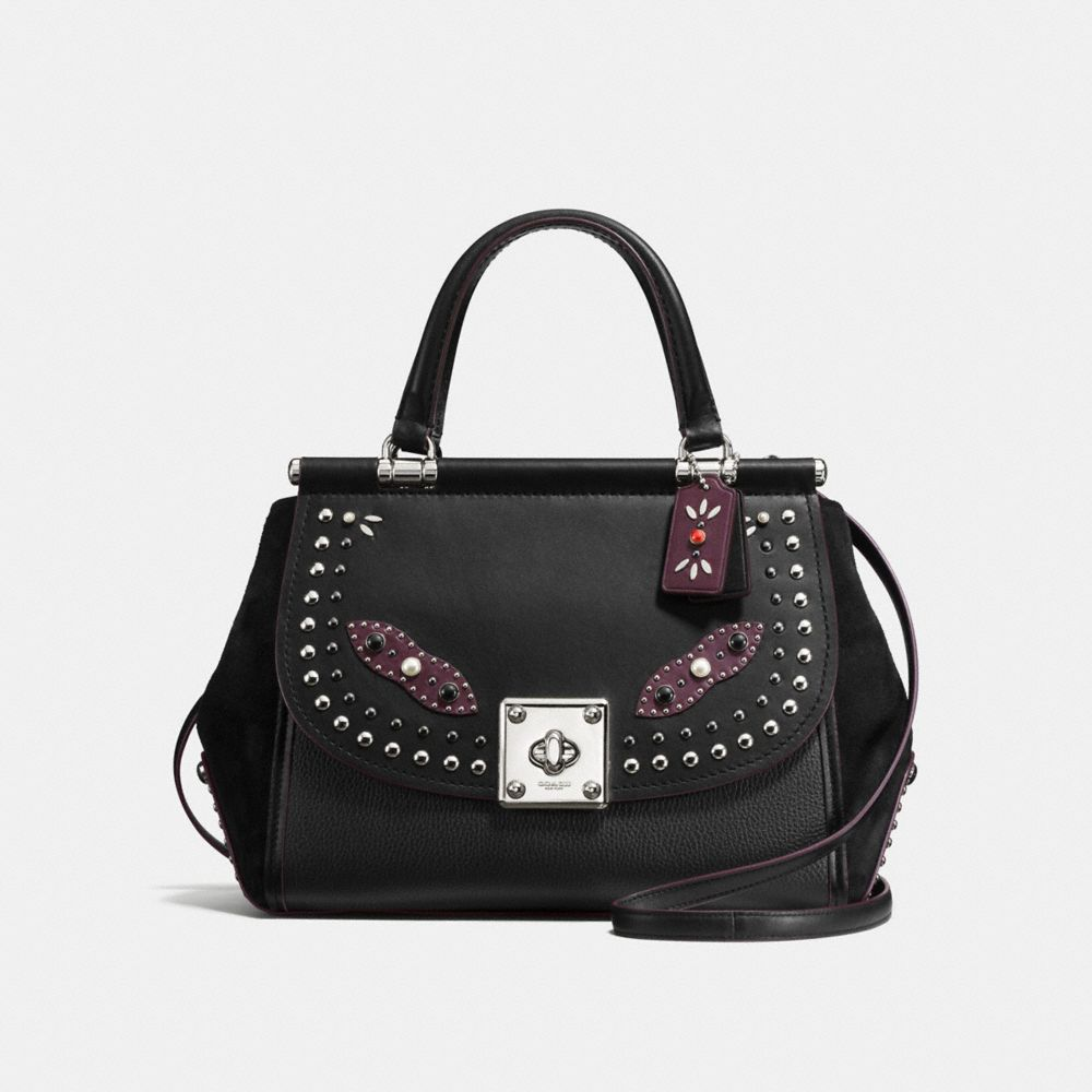 DRIFTER CARRYALL IN GLOVETANNED LEATHER WITH WESTERN RIVETS