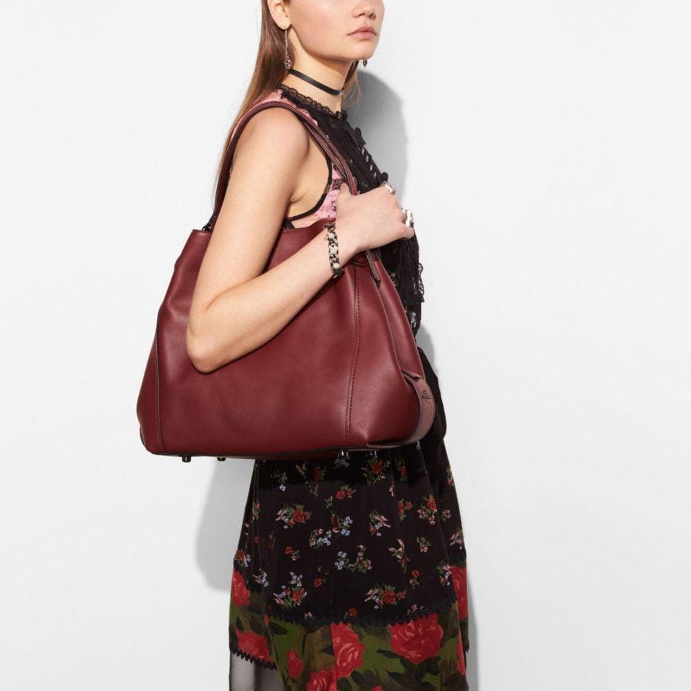 Edie Shoulder Bag 42 in Glovetanned Leather - Alternate View A3