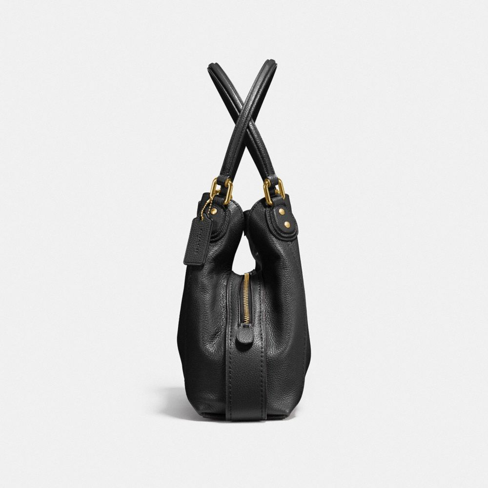 Edie Shoulder Bag 31 in Polished Pebble Leather - Visualizzazione alternativa A1