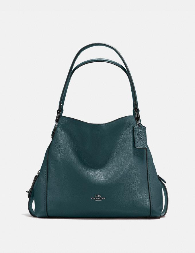 Coach Edie Shoulder Bag 31 Cypress/Gunmetal New Featured Women New Top Picks