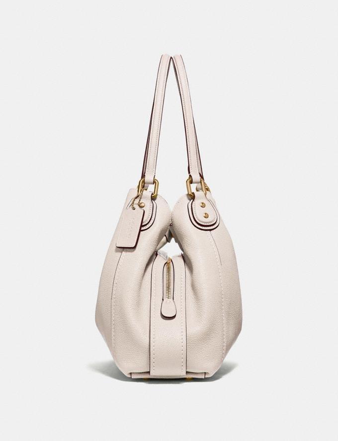 Coach Edie Shoulder Bag 31 Chalk/Light Gold Women Bags View All Alternate View 1