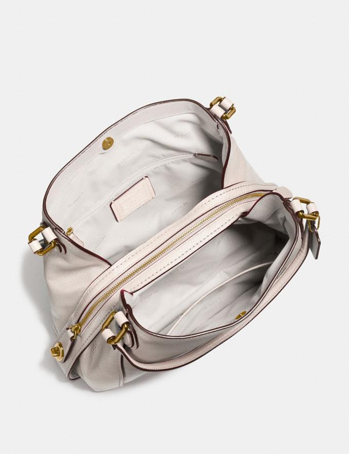 Coach Edie Shoulder Bag 31 Chalk/Light Gold Women Bags View All Alternate View 2