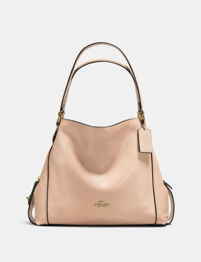 Coach Edie Shoulder Bag 31 Beechwood/Light Gold Personalise Accessorize It Visit the Shop