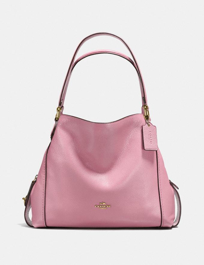 Coach Edie Shoulder Bag 31 Rose/Light Gold Women Collection