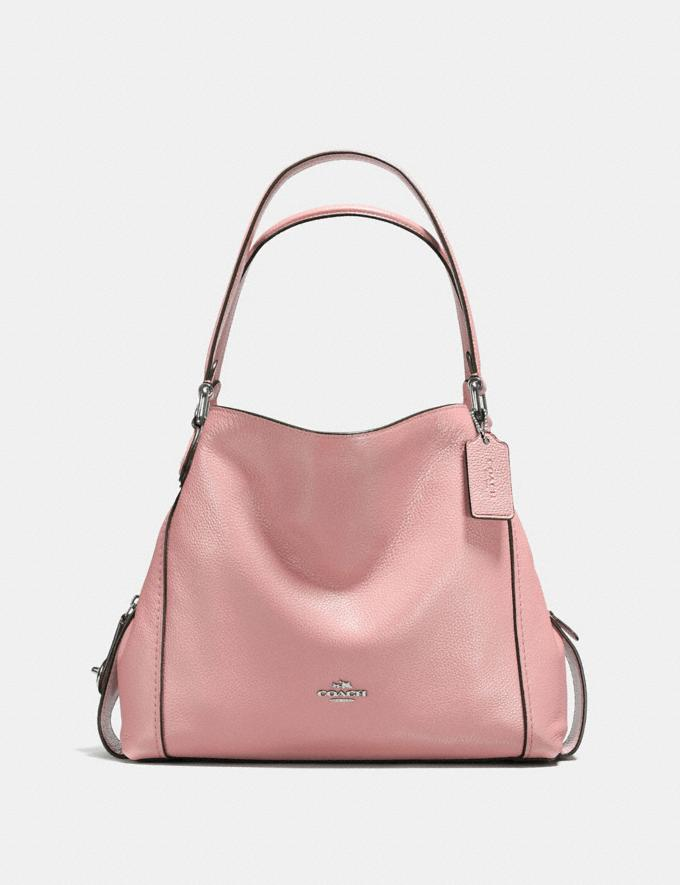 Coach Edie Shoulder Bag 31 Blossom/Silver New Featured Hello, Spring