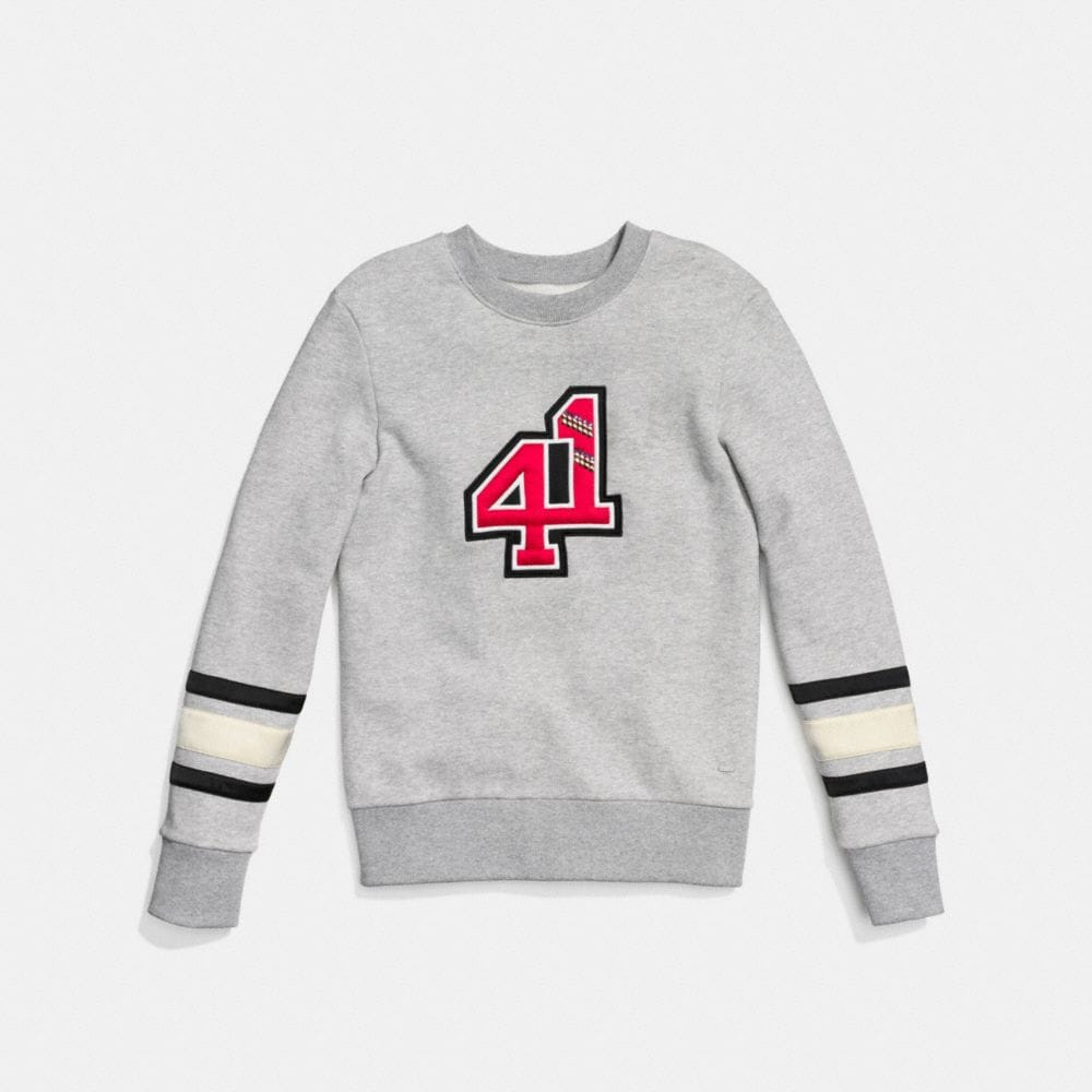 Embellished 41 Sweatshirt - Alternate View A1
