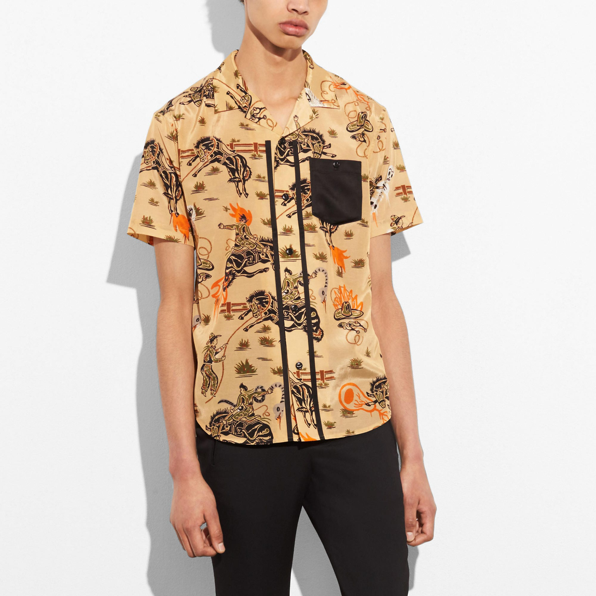 Coach Short Sleeved Shirt