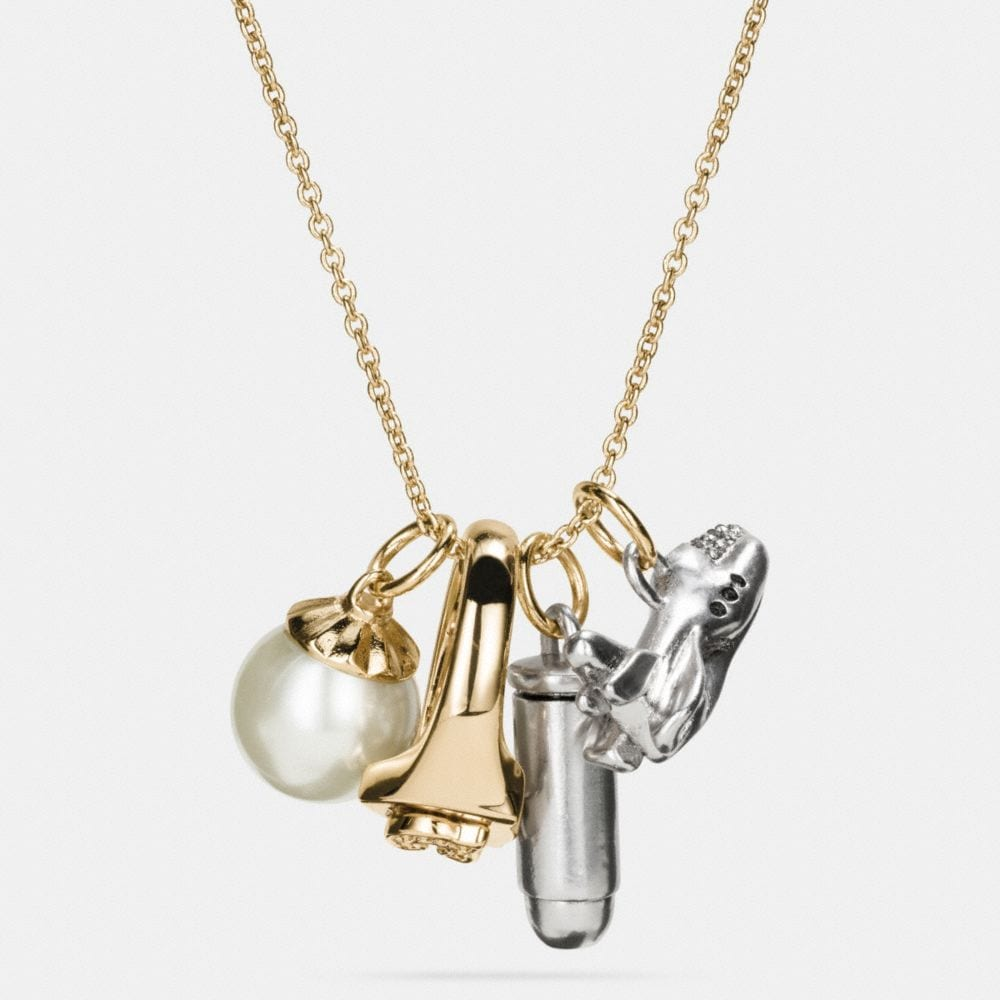 ROCKET CHARM NECKLACE