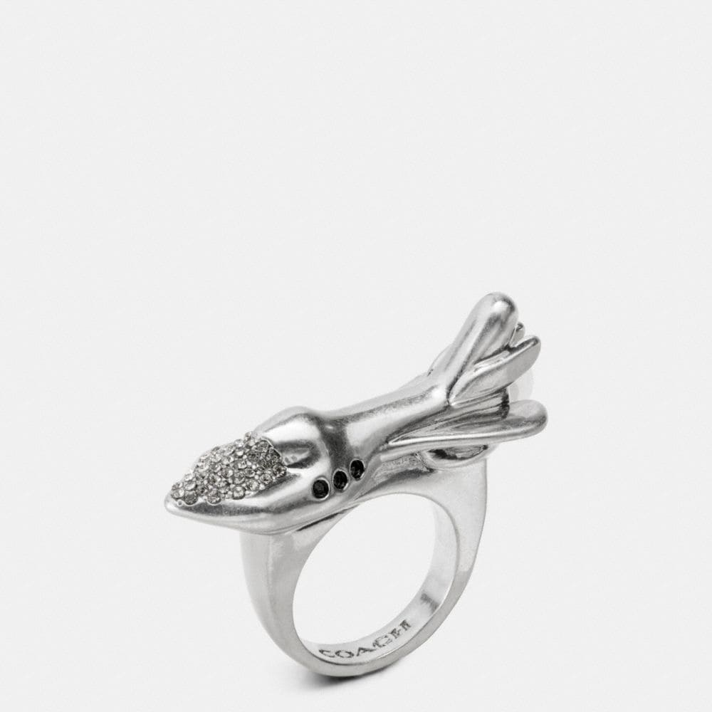 Coach Rocket Ring