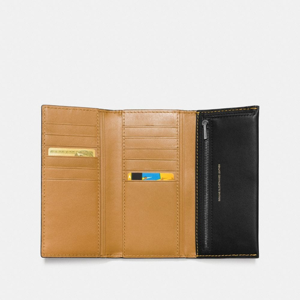 Coach Slim Trifold Wallet Alternate View 1