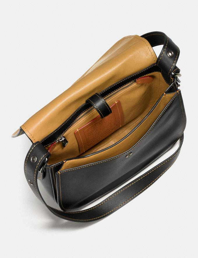 Coach Saddle Black Copper/Black New Featured Online-Only Alternate View 2