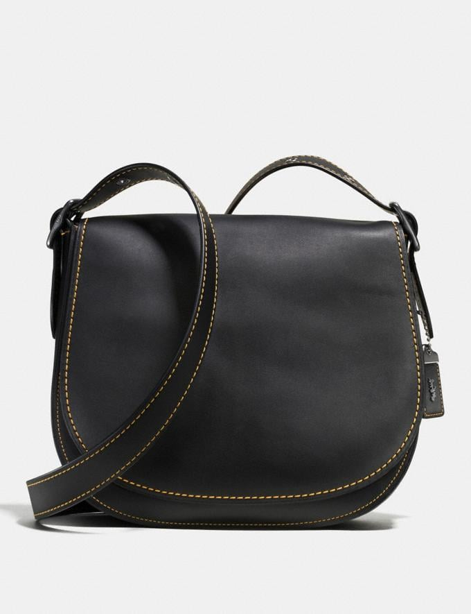 Coach Saddle Black Copper/Black New Featured Online-Only