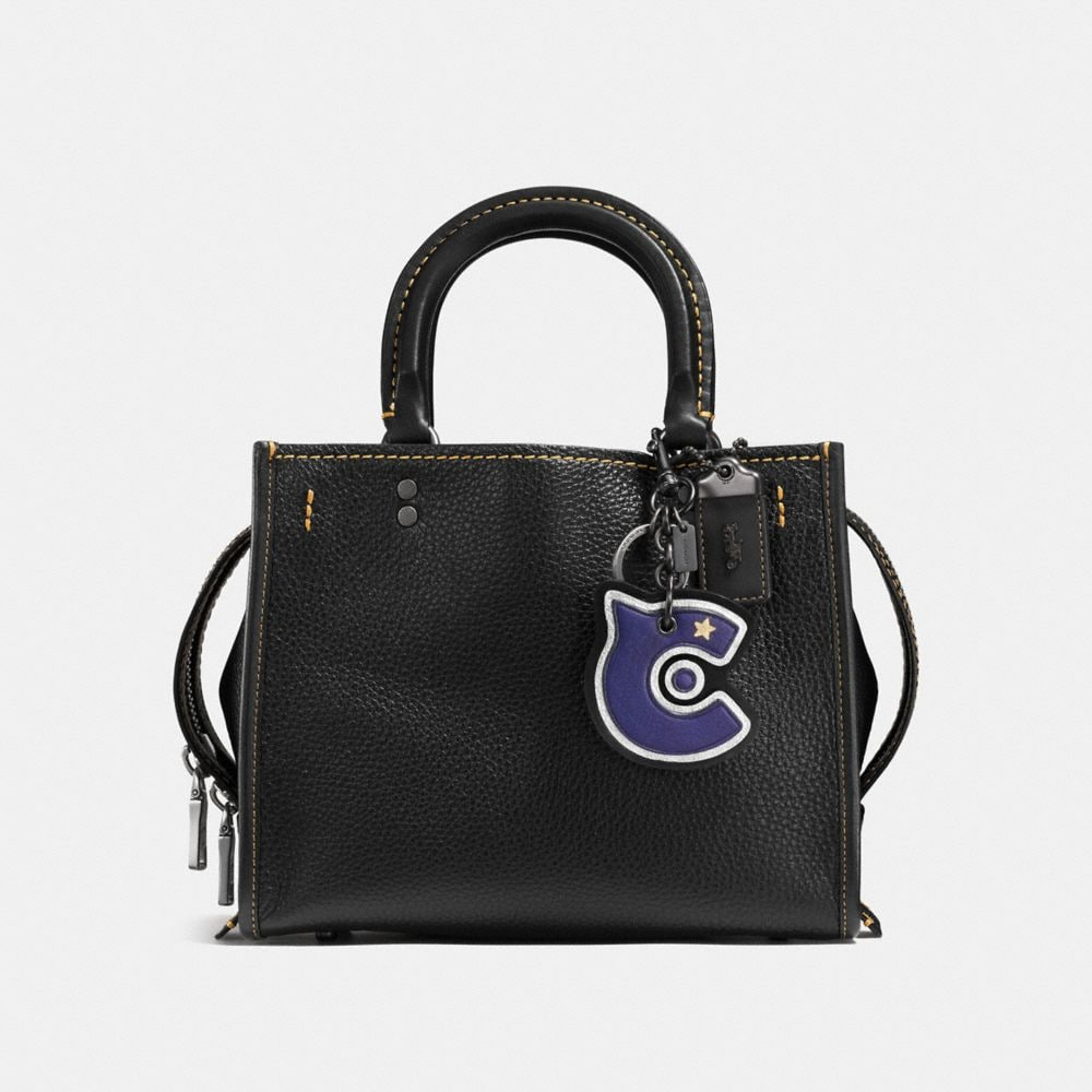 C Patch Bag Charm - Alternate View A1