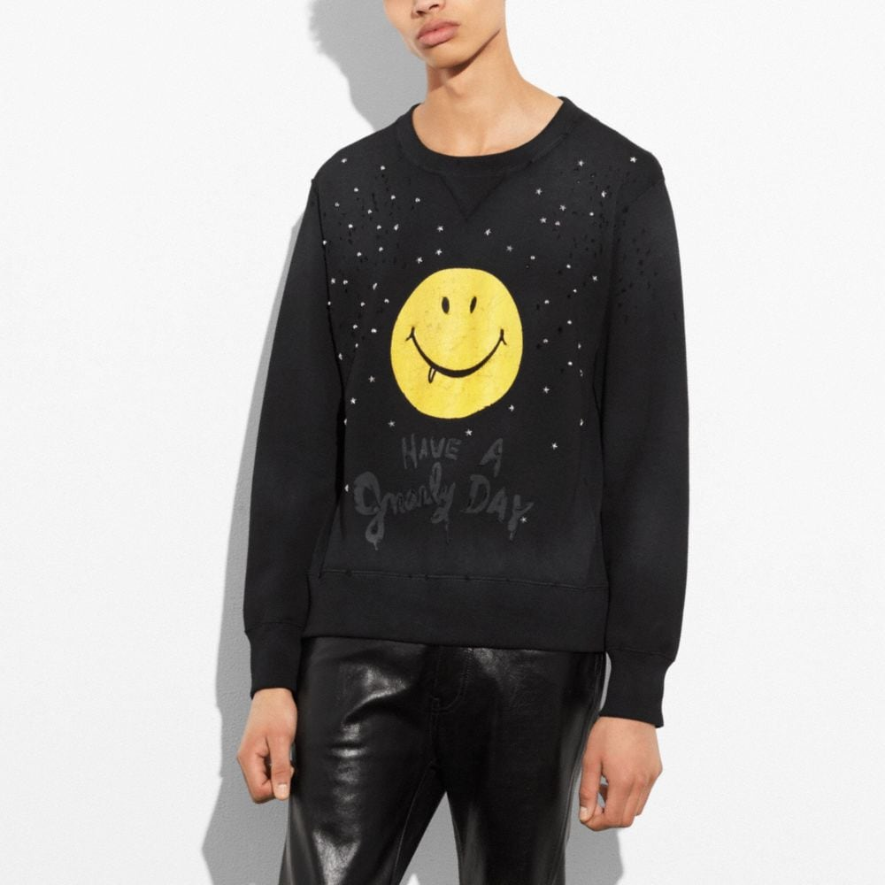 Coach Gnarly Face Sweatshirt