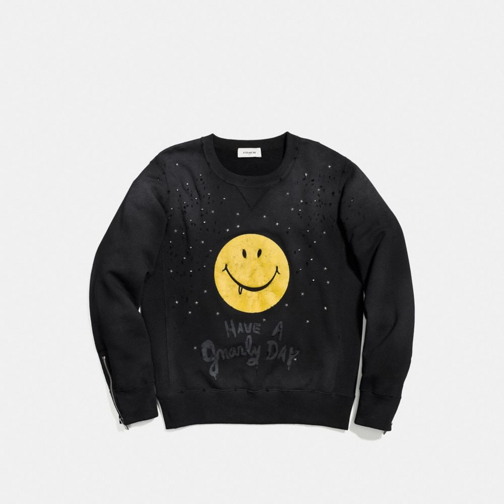 Coach Gnarly Face Sweatshirt Alternate View 1