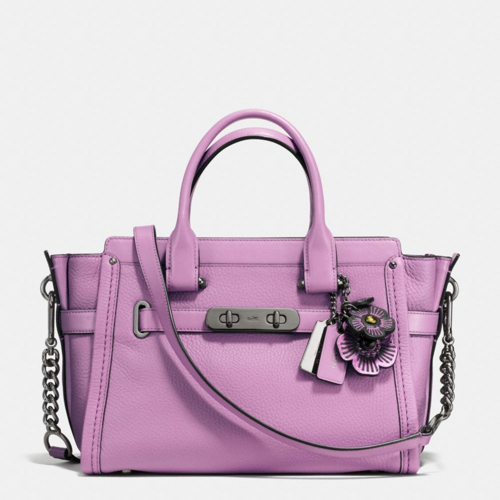 COACH SWAGGER 27 WITH WILLOW FLORAL DETAIL